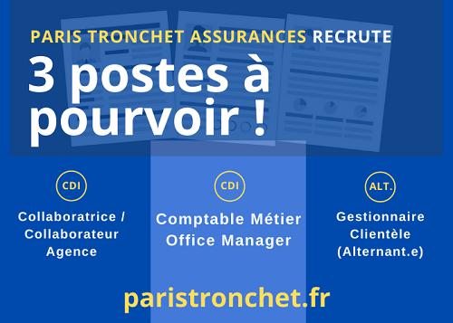 PARIS TRONCHET RECRUTE