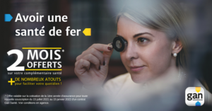 2 mois offerts Gan santé PARIS TRONCHET ASSURANCES